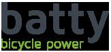 batty - bicycle power Logo